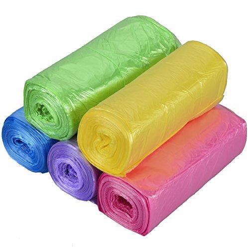 Bolsas de Basura de Colores sin Asas, TankerStreet Bolsa de