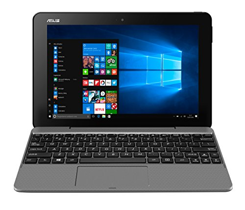 'Asus t101ha-gr001t–Tablette de 10.1(Intel Atom x5-z8350, RAM de 2Go, eMMC de 32Go, Intel HD Graphics, Windows 10) métal Gris Glacier
