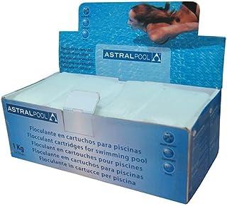 Astralpool 11390 Floculante en Cartuchos para Piscinas, Blanco, 10x20x7 cm