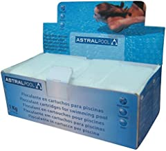 Astralpool 11390 Clarificante Sólido en Bolsitas, Blanco,