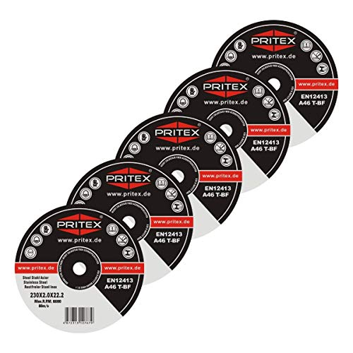 Trennscheibe für Metall Stahl Edelstahl 25 Stück 230 x 2,0 mm Inox Trennscheiben
