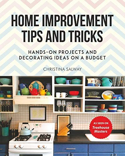 Home Improvement Tips and Tricks Hands on Projects and Decorating Ideas on a Budget product image