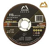 discos de corte de metal con purpurina 10 115 x 1 mm Cuchillos de corte de acero inoxidable ultra finos