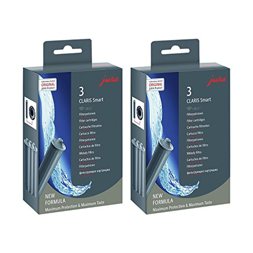 Jura 71794 Claris Filterpatrone Smart, (2 x 3er-Pack)