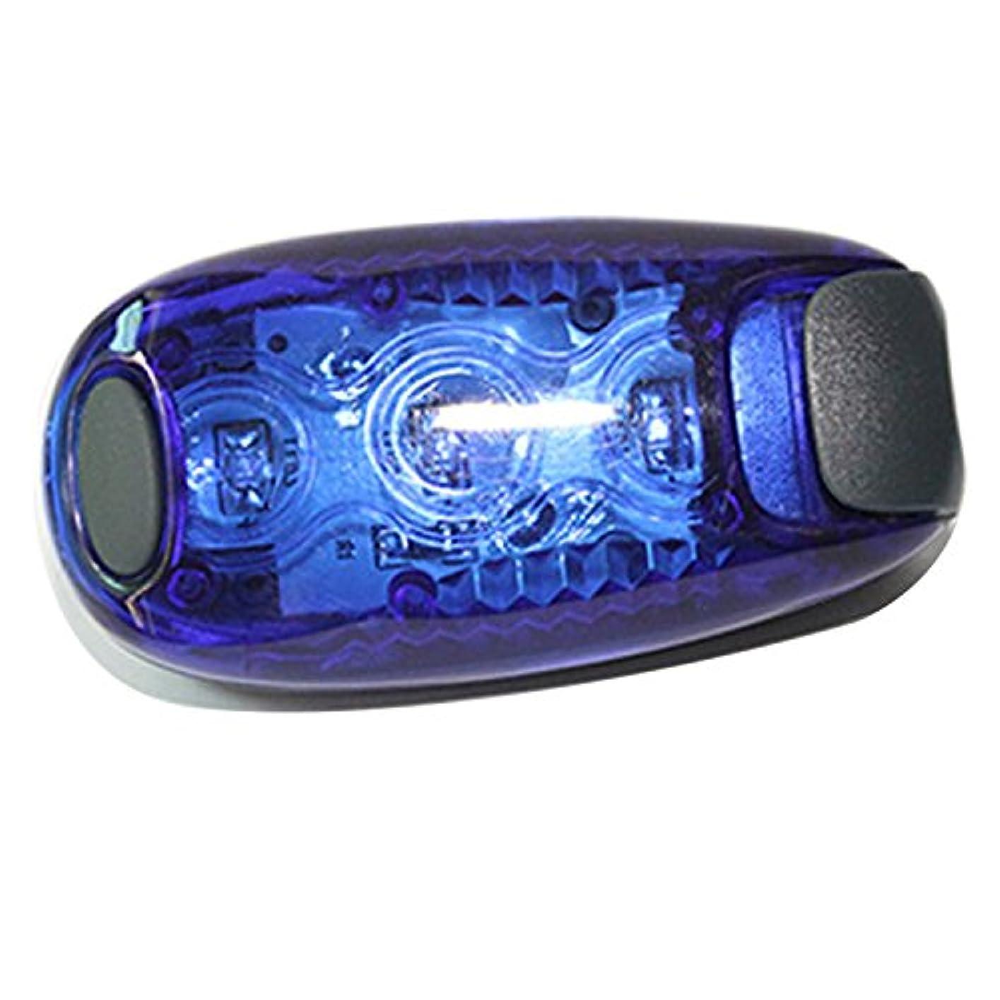 手のひら愛する欠陥Zhaozhe LEDテールライト セーフティライト クリップ式 安全警告灯