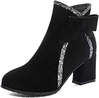 BalaMasa Womens ABS14147 Pu Boots