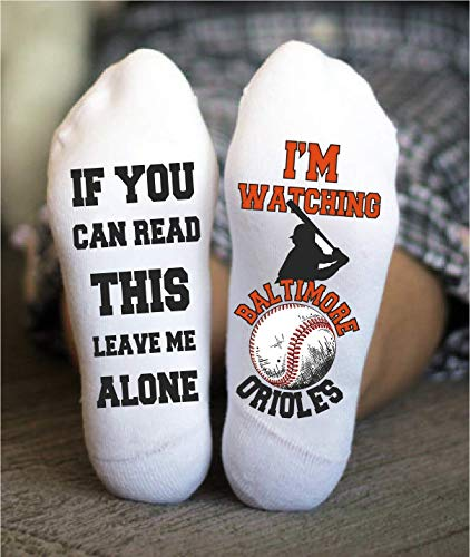 Baltimore Socks Funny Birthday Unisex Gift Baseball Team