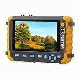 Yblntek 5 Pouces CCTV caméra testeur AHD TVI CVI coaxial HD Moniteur vidéo testeur Test vidéo analogique Test du...