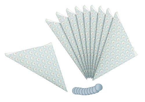Dr. Oekter Spitztüten inkl. Aufkleber, Gebäcktüten aus Papier aus der Serie Modern