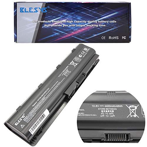 BLESYS 6-Cell MU06 MU09 Compatible con batería de portátil para HP G4 G6 G6T G6X G7-1000 DV3-2200 DV4-4000 DV5-3000 DV6-6000 DV6T-4000 cto DV7-1400 DV7-5000 DV7T-6100 cto Bateria de Notebook portátil