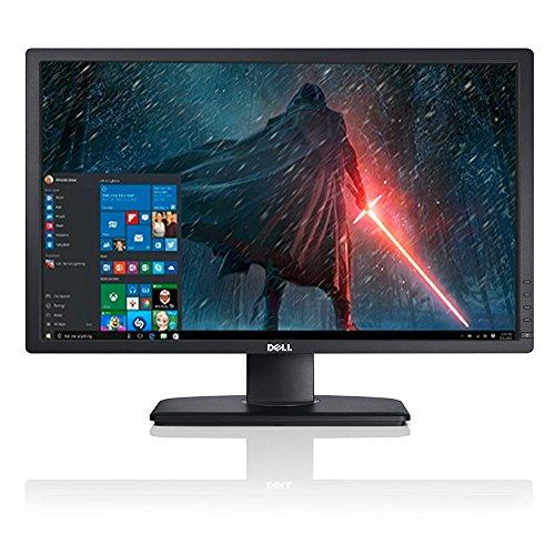 2017 Newest Premium High Performance Dell 24' Ultrasharp Full HD LED-Backlit IPS 1920x1200 Resolution Monitor Widescreen 16:10 Aspect Ratio VGA DVI Dislay Port Connectivity