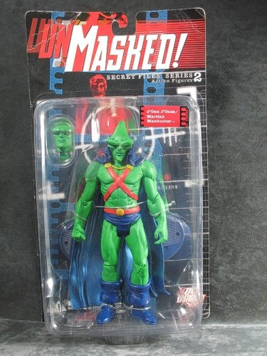 Secret Files Series 2 Unmasked J'onn J'onzz/Martian Manhunter Action Figure