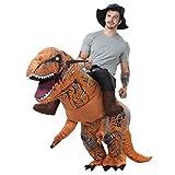 CheungLee 恐竜コスプレ ?士 恐竜 着ぐるみ 着ぐるみ大人用 男女共用 怪獣 動物コスプレ 膨らむコスチューム 空気充填 膨張式 衣装セット キャラクター扮衣装 USB携帶充電サポートです