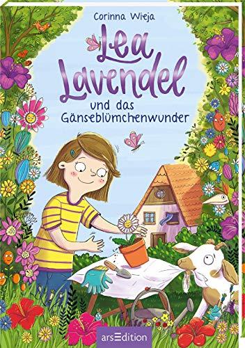 Lea Lavendel und das Gänseblümchenwunder (Lea Lavendel 1): Fröhliche Abenteuergeschichte mit vielen bunten Bildern für Mädchen und Jungen ab 8 Jahre