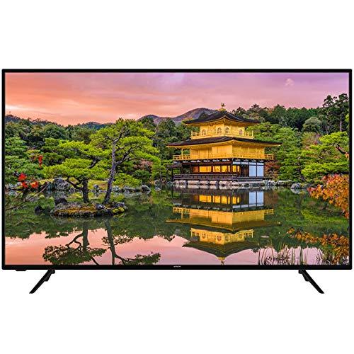 """Televisor HITACHI 55HK5600 - Televisor de 55"""" UHD 4K Smart WiFi, Negro"""