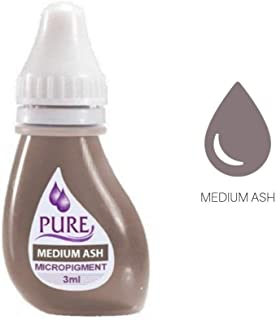 BioTouch Pure Medium ASH Pigment Permanent Makeup Cosmetic Tattoo Ink Color 3 ml