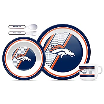 NFL Denver Broncos Children s Dinner Set