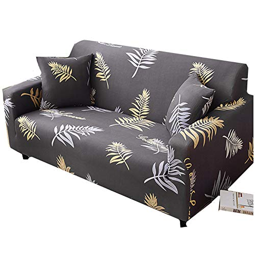 Fundas Bonitas para Sofa Funda de sofá Klippan Cubierta de sofá Sofá de Terciopelo Cubre Cubierta de sofá elástico Elástico sofá Cubre 145-185,Deep Gray