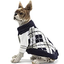 HAPEE The Diamond Plaid Dog Sweater