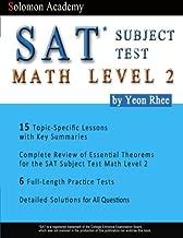 Solomon Academy's SAT Subject Test Math Level 2