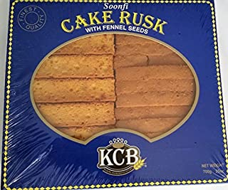 KCB Soonfi Cake Rusk with Fennel Seeds 25oz by Cake Rusk