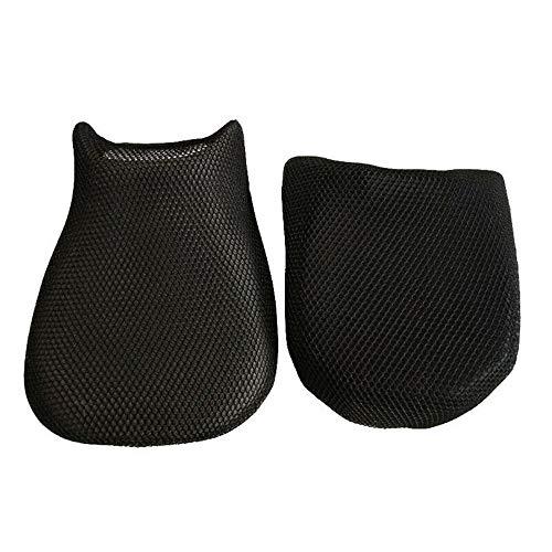 Kousa 2 fundas de cojín para asiento de motocicleta con aislamiento térmico para asiento de moto R1200GS (06-12)