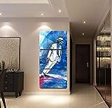 XuFan Moderne Leinwand Bilder Kunstwerk Malerei 3 Panel