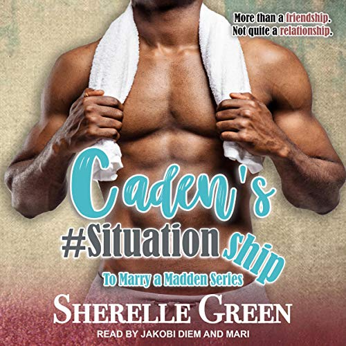Caden's #Situationship audiobook cover art