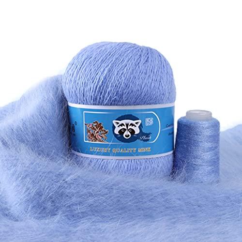 50 + 20 g de lana de visón para tejer y ganchillo.