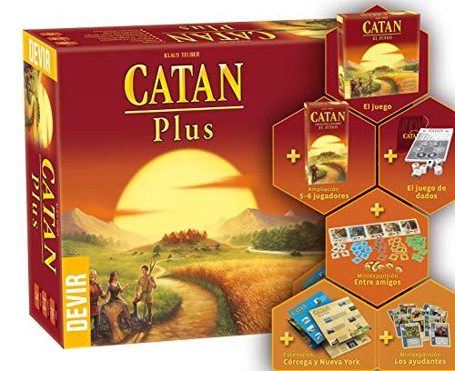 Comprar juego de mesa: Catan Plus (Devir BGCATANPLUS2)