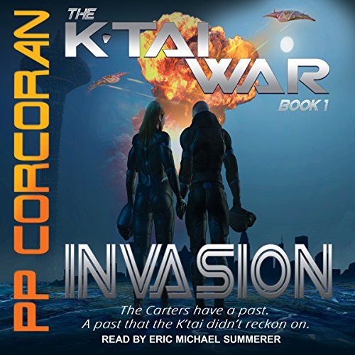 Invasion audiobook cover art