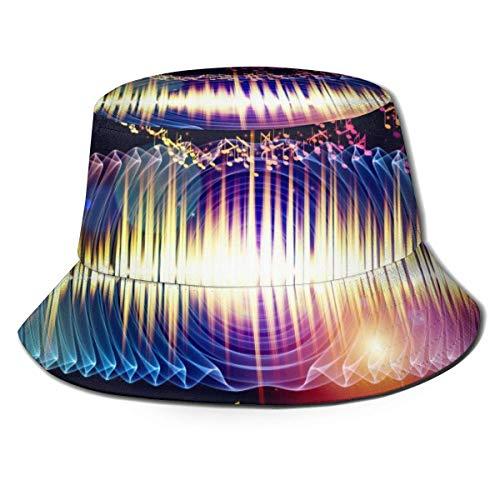 Rundafuwu Angeln Hüte Fishermen Hat Boonie Cap Sun Hat Fitted Beach Sun Bucket Hat|Sun Protective