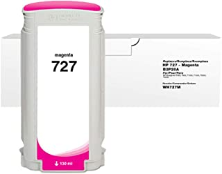 Clover Replacement Ink Cartridge for HP 727 B3P20A | Magenta