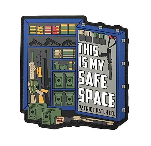 Patriot Patch Co - Safe Space - Blue Patch