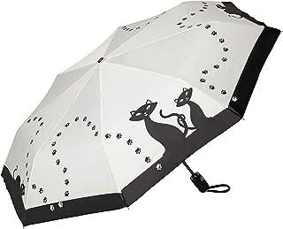 Doppler Mini parapluie de poche /à ouverture et fermeture automatiques Motif chats
