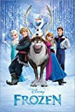 Poster Frozen - preiswertes Plakat, XXL Wandposter