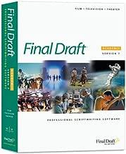 Final Draft Version 7 Academic Win/Mac