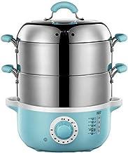 ECSWP Ménage multi-fonction électrique à vapeur 304 en acier inoxydable Puissance automatique de Mini petit vapeur Cage à ...