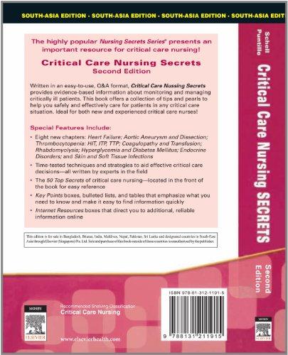 Critical Care Nursing Secrets