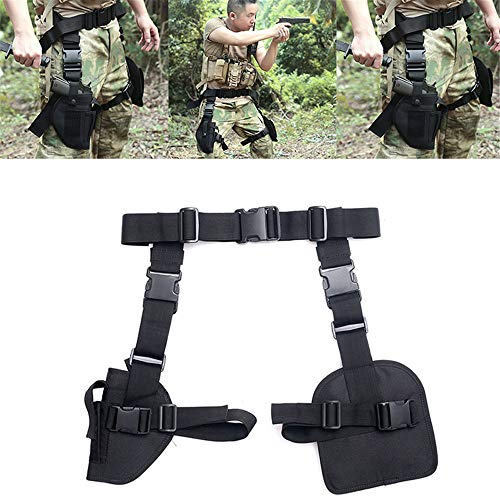 Tactical Pistol Drop Been Dij Holster tasje met verstelbare riem riem voor Outdoor Hunting Shooting Outdoor