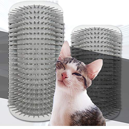 Parain Katzen Kante Ecke Wand Katzen Bürste Selbst Groomer Katzenspielzeug Groß Größe (L)