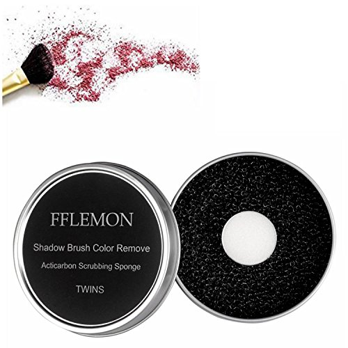 FFLEMON Brush Color Removal Sponge, Makeup Brush Quick Cleaner...