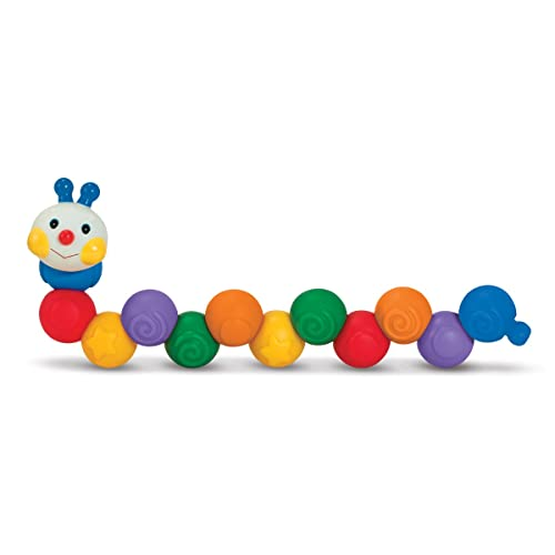 a71649a8128 Melissa   Doug K s Kids Build an Inchworm Snap-Together Soft Block Set for  Baby