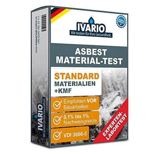 Asbest Material-Test inkl. KMF (Künstliche Mineralfasern) - Asbest-Analyse im Fachlabor