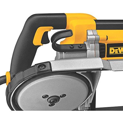 DEWALT Portable Band Saw, Deep Cut, 10 Amp, 5-Inch (DWM120K) , Yellow , Large