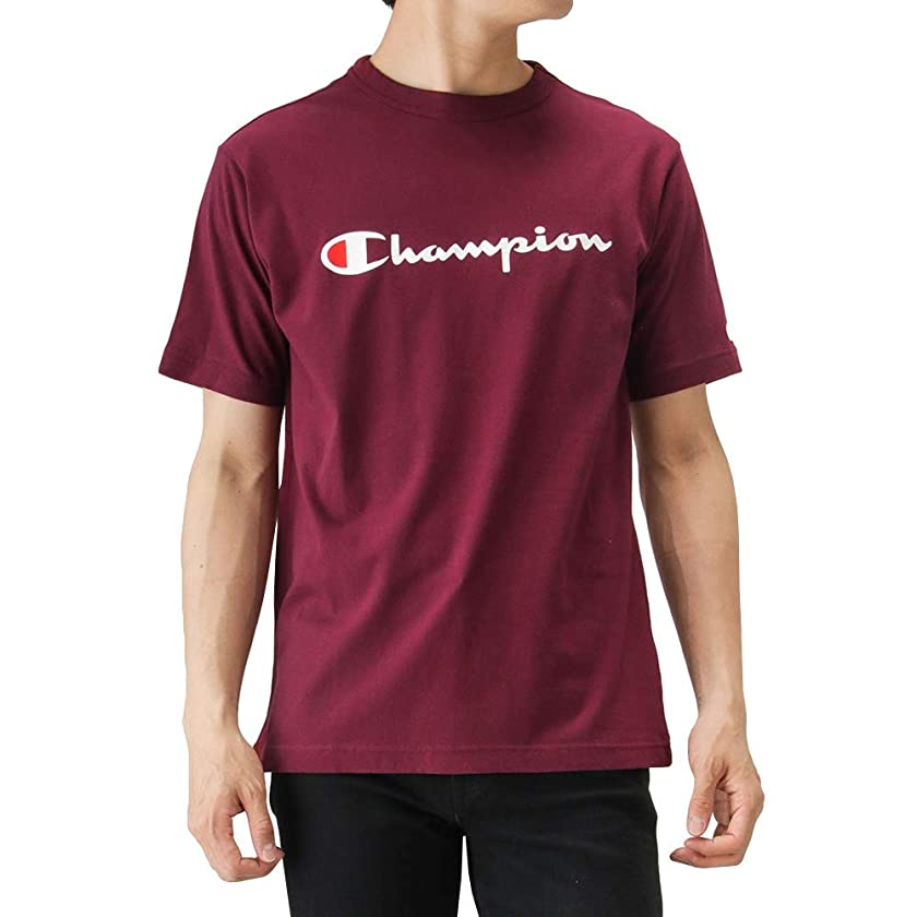 焼くカブ否定するChampion(チャンピオン) プリントTシャツ 半袖Tシャツ クルーネック C3-P302 メンズ