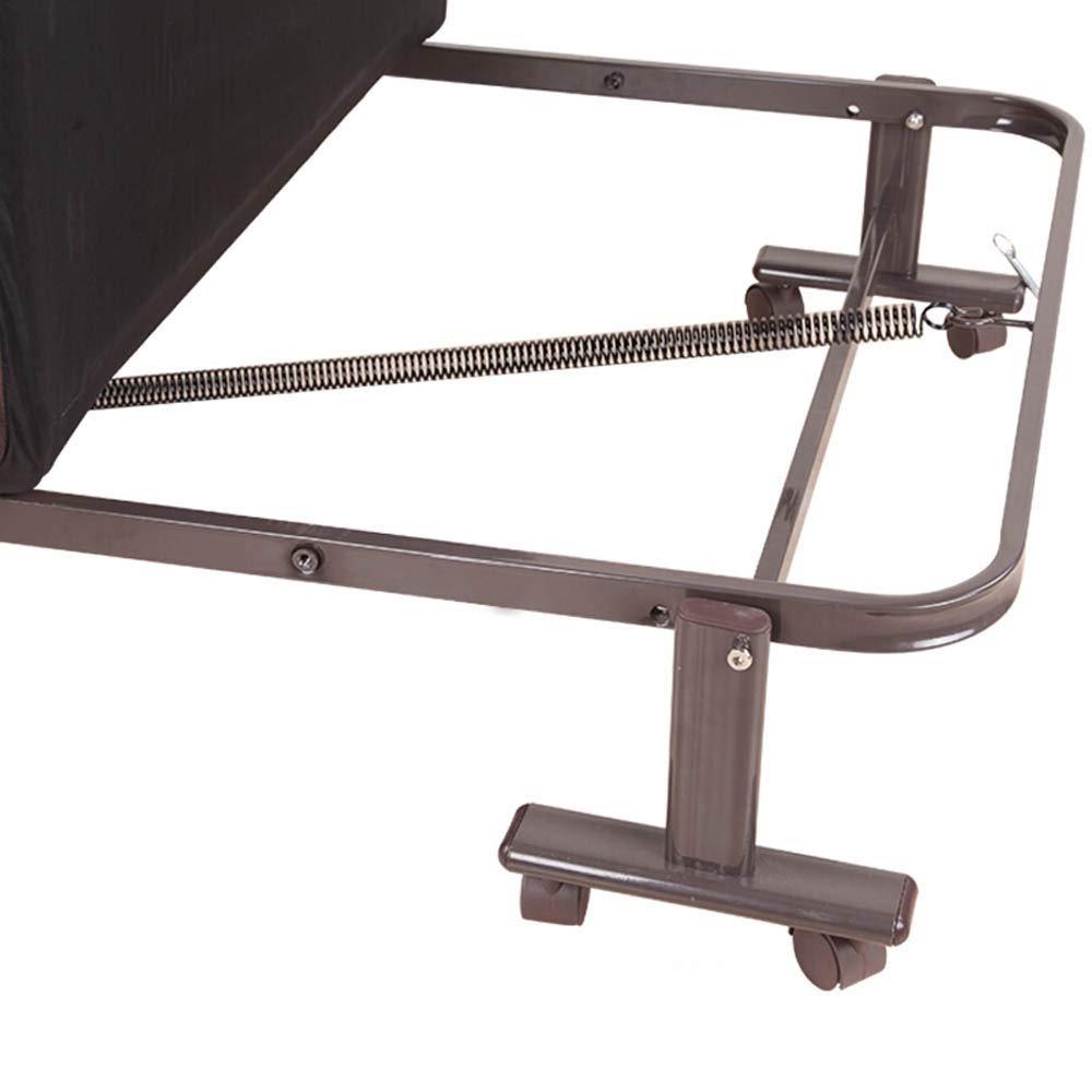 折り畳み式ソファーベッド オフィスコットンパッド用伴いベッドシエスタベッドは、3種類のサイズを付属しました 折りたたみアームチェア (色 : Coffe, Size : 80cm)