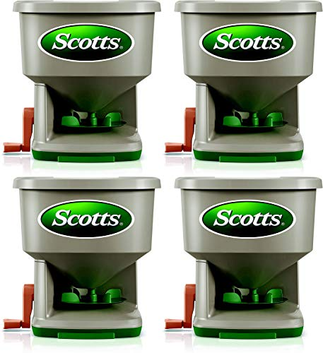 Learn More About Scotts Whirl Hand-Powered Spreader, 4 Pack