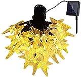 Solar Starfish String Sarl String Lights 20 LED 4.8m Impermeable en el Interior...