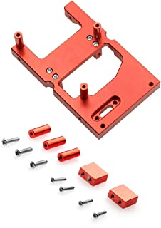 EAPTS RC Car Bracket,RC Crawler Bracket, Aluminum Alloy Servo Fixed Mount Bracket for WPL C24 C14 B16 B36 1/16 RC Car MN D90 99s Upgrade Metal Spare Parts Car Accessories RC Parts Kit